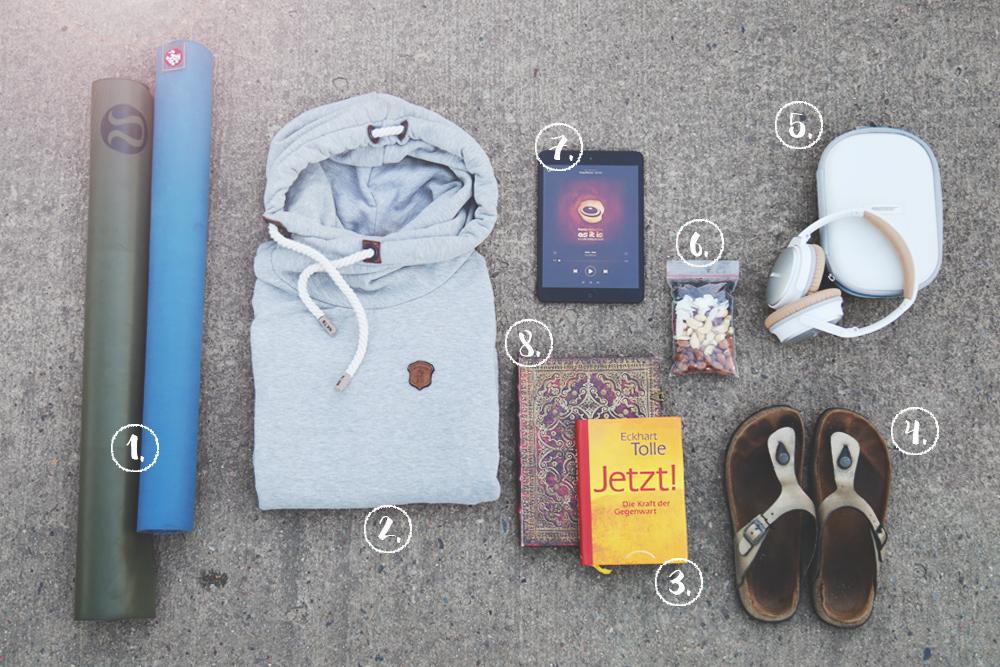 Yoga_travel_Essentials_Bali_Packliste_numeriert