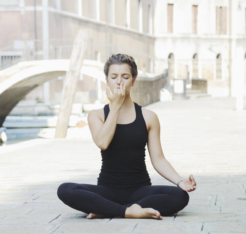 Yoga Wechselatmung Nadi Shodana Gegen Stress Und