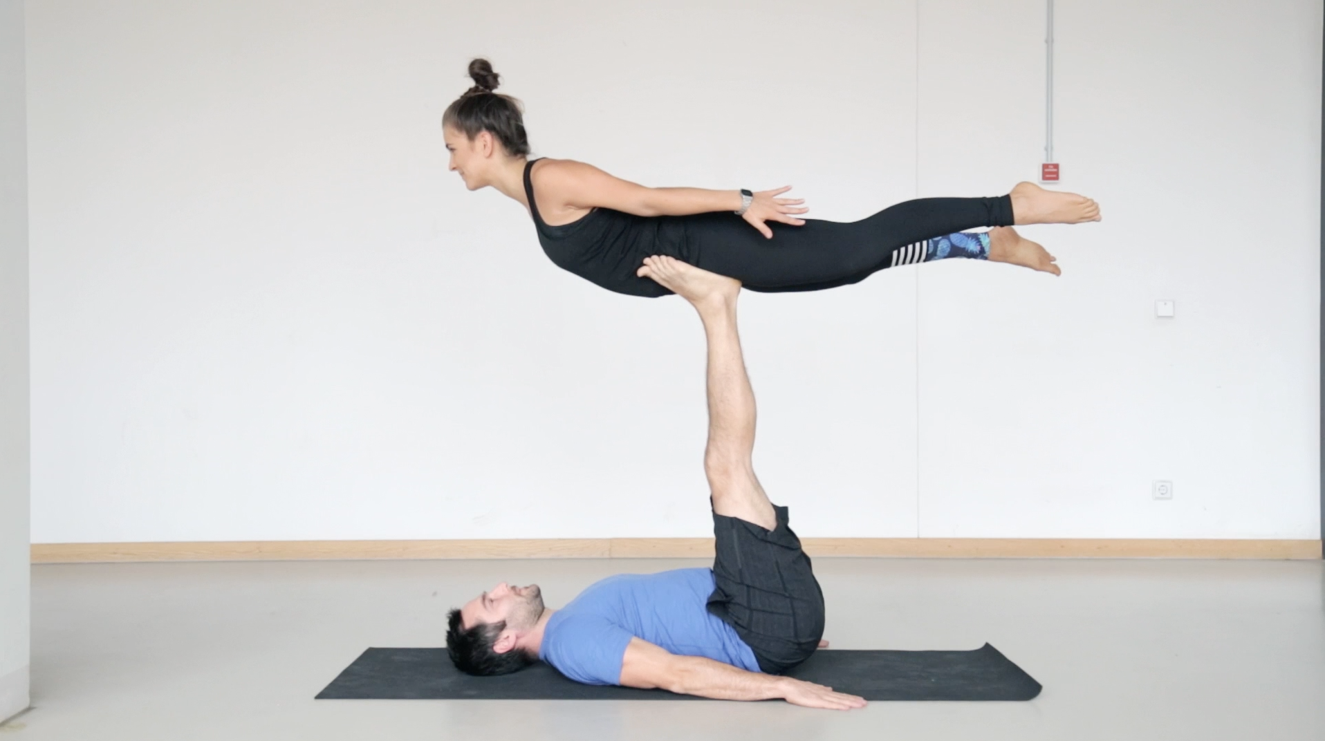 two person yoga moves