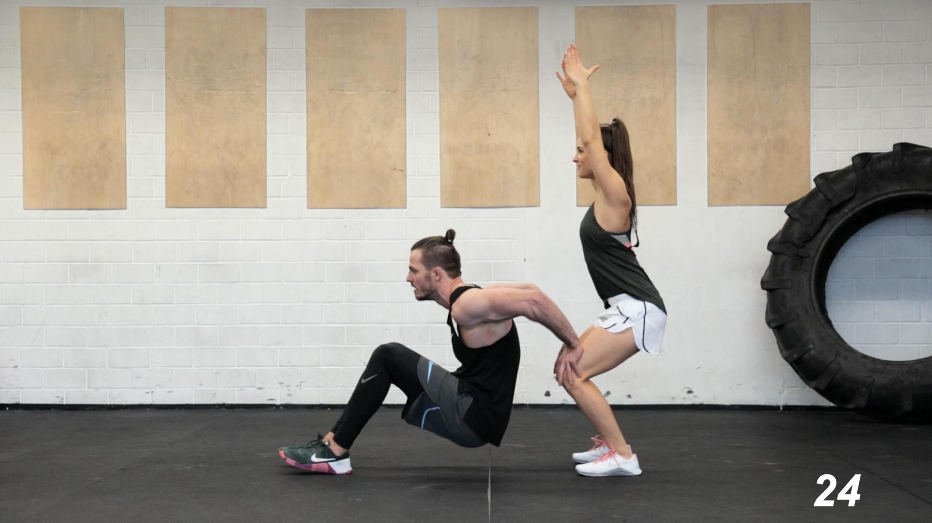 Partner-HIIT-Workout-Fatburning-7