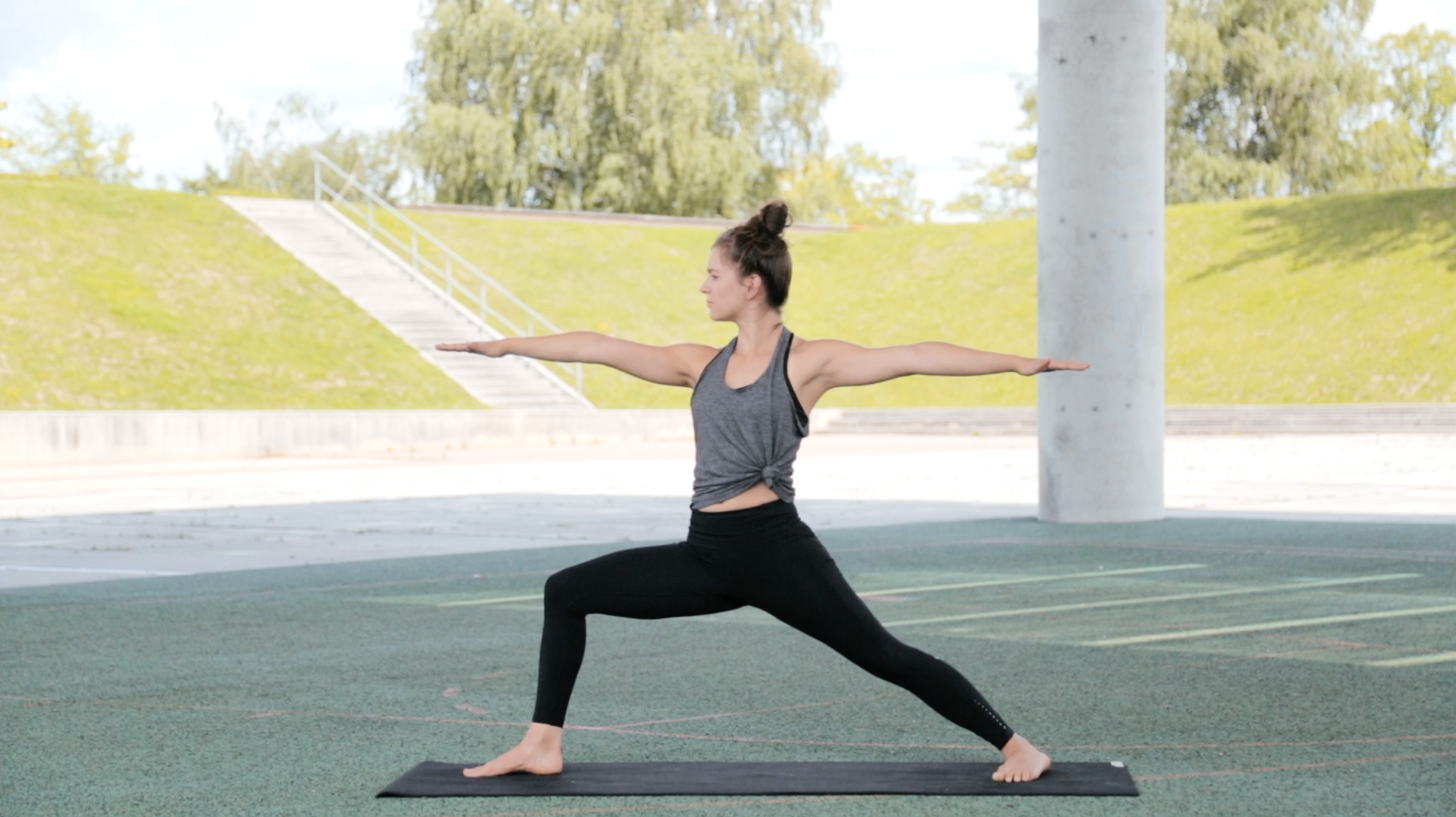 warrier yoga
